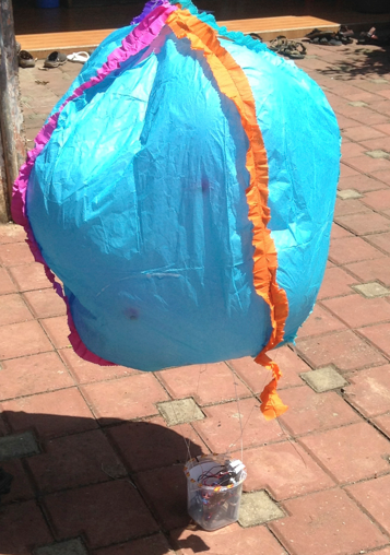 weather baloon project ready to fly